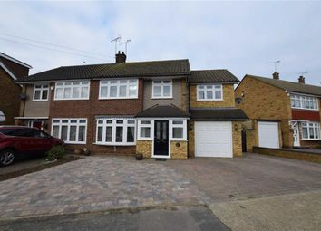 Thumbnail 5 bed semi-detached house for sale in Andersons, Corringham, Essex