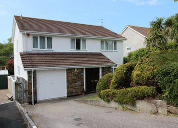 Thumbnail 5 bed detached house for sale in Billings Drive, Tretherras, Newquay