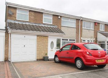 Thumbnail 4 bed semi-detached house for sale in Grosvenor Close, Southfield Green, Cramlington