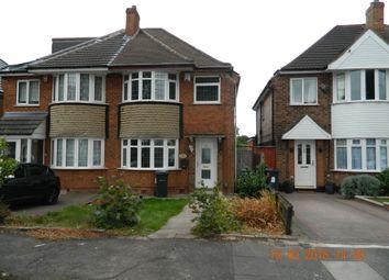 Thumbnail 4 bed semi-detached house to rent in Arran Road, Hodge Hill, Birmingham