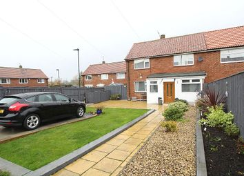 Thumbnail 3 bed semi-detached house for sale in Naworth Drive, Newcastle Upon Tyne, Tyne And Wear