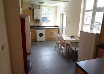 Thumbnail 4 bed terraced house to rent in Evington Road, Leicester