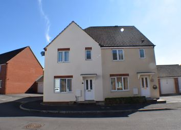 Thumbnail 3 bed semi-detached house for sale in Church Meadow, Bridgwater