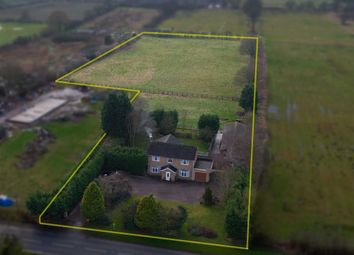 Thumbnail 4 bed equestrian property for sale in Caistor Road, Market Rasen