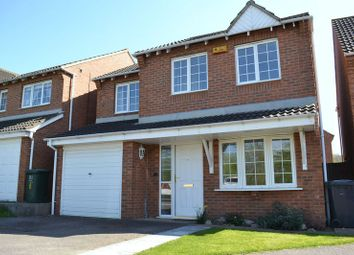 Thumbnail 4 bed detached house to rent in Frank Bodicote Way, Swadlincote