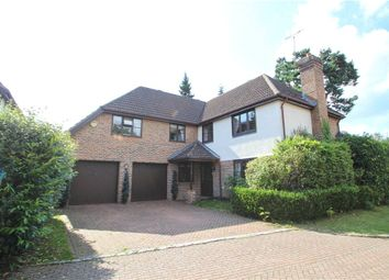 Thumbnail 5 bed detached house for sale in Cambrian Close, Camberley, Surrey