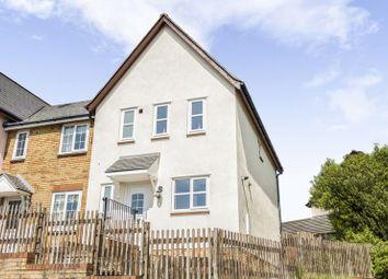 Thumbnail 3 bedroom semi-detached house for sale in Trem Y Dyffryn, Broadlands, Bridgend