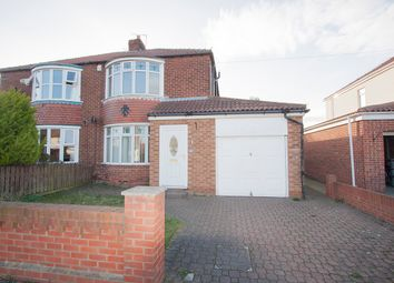 Thumbnail 3 bed semi-detached house to rent in Ventnor Avenue, Hartlepool