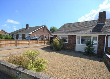 Thumbnail 3 bedroom semi-detached bungalow for sale in West Hall Road, Dersingham, King's Lynn