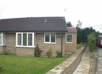 Thumbnail 2 bedroom semi-detached bungalow to rent in Oaktree Road, Branton, Doncaster