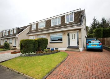 Thumbnail 3 bed semi-detached house for sale in Myvot Avenue, Cumbernauld, Glasgow