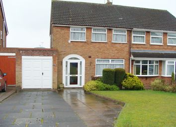 Thumbnail 3 bed semi-detached house for sale in Clent Road, Rubery
