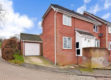 Thumbnail 3 bed end terrace house for sale in Olivine Close, Walderslade Woods, Chatham, Kent