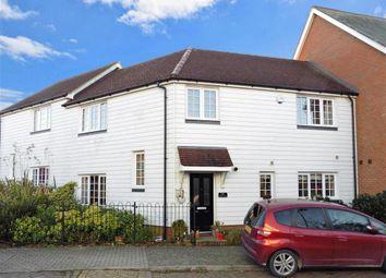 Thumbnail 3 bed terraced house for sale in Hazen Road, Kings Hill, West Malling, Kent