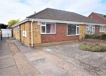 Thumbnail 3 bed semi-detached bungalow for sale in Oakwood Drive, Grimsby