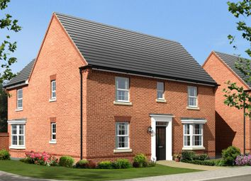 "Thumbnail 4 bed detached house for sale in ""Layton"" at Holt Road, Horsford, Norwich"
