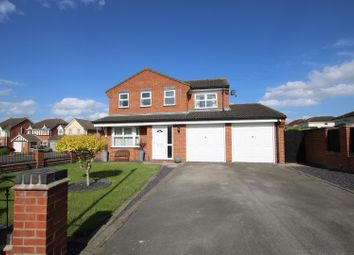 Thumbnail 4 bedroom detached house for sale in Cygnet Close, Sleaford