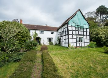 Thumbnail 4 bed farmhouse for sale in Broadwas, Worcester