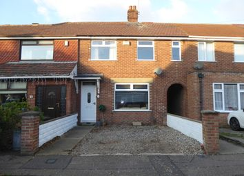 Thumbnail 3 bed terraced house to rent in Elm Avenue, Gorleston, Great Yarmouth