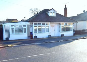 Thumbnail 4 bedroom detached bungalow for sale in Manor Road, Farnborough
