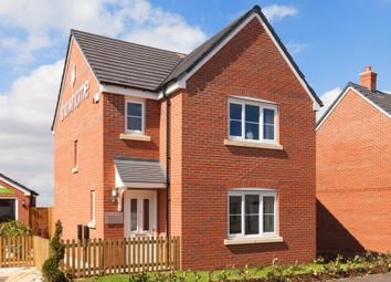 "Thumbnail 3 bed detached house for sale in ""The Hatfield "" at Snowberry Lane, Wellesbourne, Warwick"