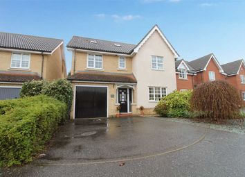 Thumbnail 6 bed detached house for sale in Wren Close, Stowmarket