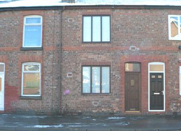 Thumbnail 2 bed terraced house to rent in Lock Villas, Thelwall Lane, Latchford, Warrington
