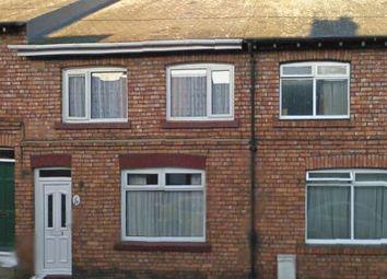 Thumbnail 4 bed terraced house for sale in Steavenson Street, Bowburn, Durham