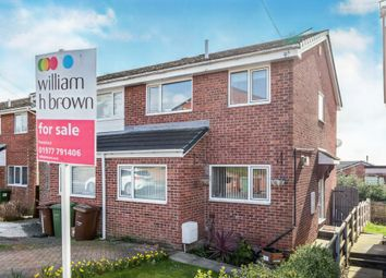 3 bed semi-detached house for sale in Peach Tree Close, Pontefract WF8