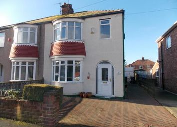 Thumbnail 3 bedroom semi-detached house for sale in Ridley Avenue, Middlesbrough