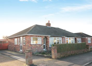 Thumbnail 2 bed semi-detached bungalow for sale in Ashley Park Road, York