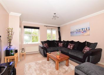 Thumbnail 3 bed flat for sale in River Bank Close, Maidstone, Kent