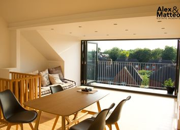 Thumbnail 3 bed duplex to rent in Westcombe Hill, London