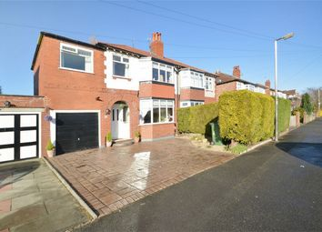 Thumbnail 4 bedroom semi-detached house for sale in Palmerston Road, Woodsmoor, Stockport, Cheshire