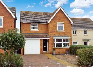 Thumbnail 4 bed detached house for sale in Biscay Close, Irchester, Northamptonshire