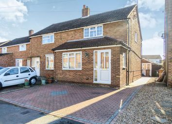 Thumbnail 3 bedroom semi-detached house for sale in Eastfield Close, Luton