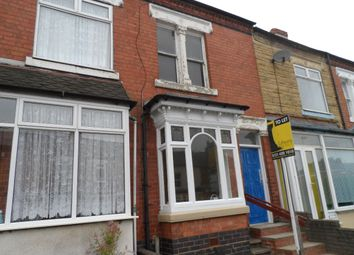 Thumbnail 3 bed terraced house to rent in Thimblemill Road, Bearwood