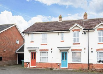 Thumbnail 2 bed terraced house for sale in Horton Close, Aylesbury