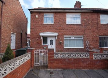 Thumbnail 3 bed semi-detached house for sale in Amble Place, Forest Hall, Newcastle Upon Tyne