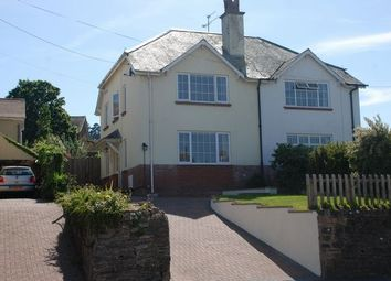 Thumbnail 4 bedroom semi-detached house for sale in Woolbrook Road, Sidmouth