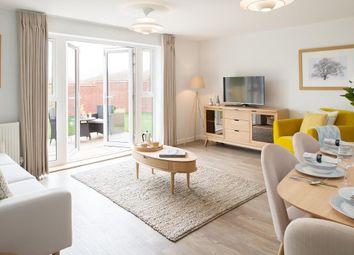 "Thumbnail 2 bed semi-detached house for sale in ""Leighton"" at Hamble Lane, Bursledon, Southampton"