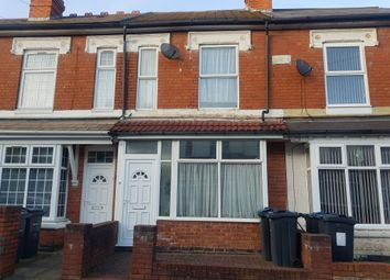 Thumbnail 3 bed terraced house for sale in Grove Road, Sparkhill, Birmingham