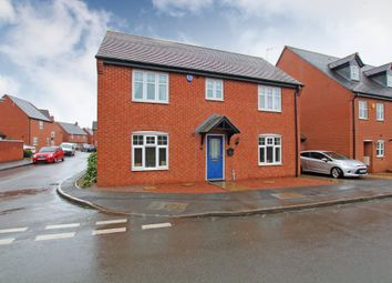 Thumbnail 4 bed detached house to rent in Donington Drive, Woodville, Swadlincote