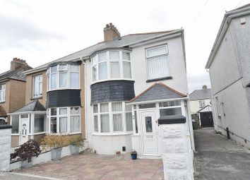 Thumbnail 3 bed semi-detached house for sale in Ayreville Road, Beacon Park, Plymouth