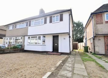 Thumbnail 3 bed semi-detached house to rent in Oldfield Road, Bexleyheath, Kent