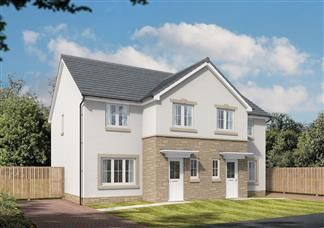 Thumbnail 3 bed semi-detached house for sale in Off Kirkliston Road, South Queensferry