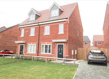 3 bed town house for sale in Rouen Crescent, Barley Meadows, Cramlington NE23