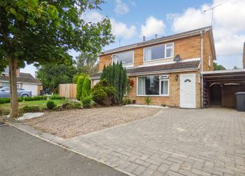 Thumbnail 2 bed semi-detached house for sale in Whitby Close, Broughton Astley, Leicester, Leicestershire