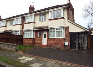 Thumbnail 3 bed semi-detached house for sale in Kirkway, Bebington, Wirral