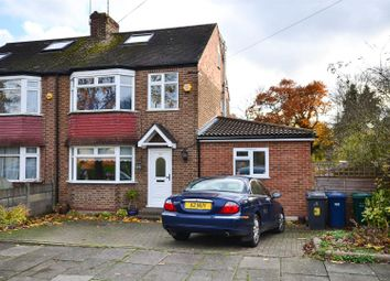 Thumbnail 4 bed semi-detached house for sale in Western Way, Barnet